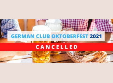 German Club Manila: Oktoberfest 2021 Cancelled