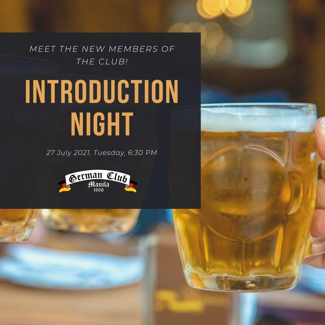 Introduction Night